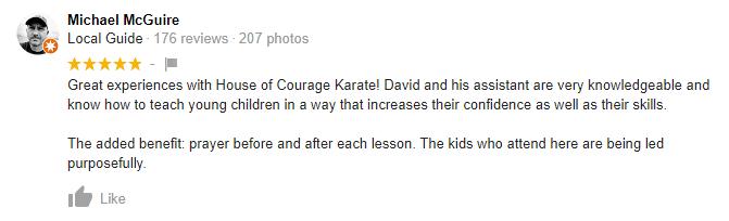 Kids4, House of Courage Karate Cedar Hill, TX